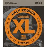 D'Addario EHR340 Half Rounds Light Top Heavy Bottom