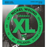 D'Addario EXL220SL Super Light 40-95