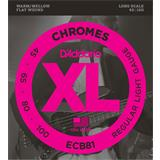 D'Addario ECB81 Chromes Bass Regular Light 45-100