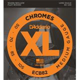 D'Addario ECB82 Chromes Bass Medium 50-105