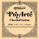 D'Addario J4506 Pro Arte Classical Guitar Low E String 043