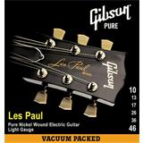 Gibson GLP10 Pure Nickel Wound Light Electric Guitar Strings