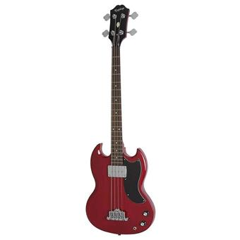 Epiphone EB-0 Cherry 4 string bass guitar