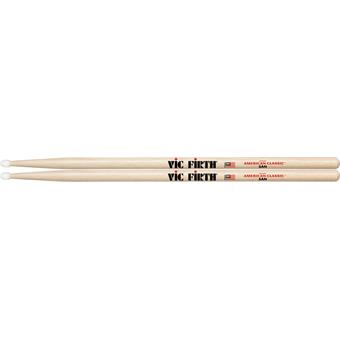 Vic Firth 5AN American Classic Nylon Tip Hickory 5A drum sticks