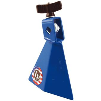 Latin Percussion LP1231 Jam Bell High Pitch Blue mountable cowbell