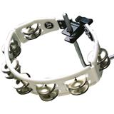 Latin Percussion LP170 Cyclops Mountable Tambourine Steel White