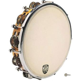 Latin Percussion LP CP391 Tunable Wood Tambourine tamboerijn met vel
