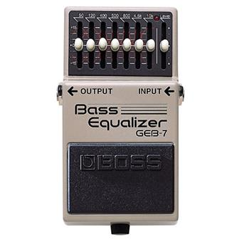 Boss GEB-7  Bass Equalizer basse pédale EQ/filter