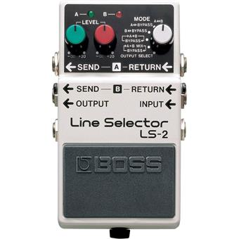 Boss LS-2 Line Selector routing/switching pedaal