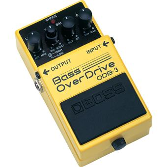 Boss ODB-3   Bass OverDrive basse pédale distortion/fuzz/overdrive