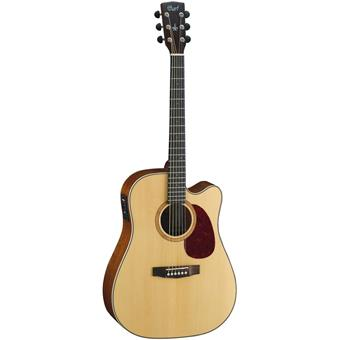 Cort MR710F Natural Satin DISCONTINUED acoustic-electric cutaway dreadnought guitar