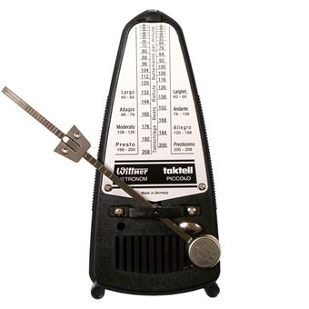 Wittner Piccolo 836 Black mechanical metronome