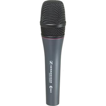 Sennheiser E 865 condenser microphone for vocalists