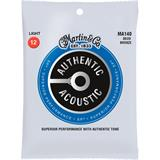 Martin Strings MA140 Authentic Acoustic SP 80/20 Bronze Light