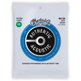Martin Strings MA180 Authentic Acoustic SP 80/20 Bronze 12 String Extra Light