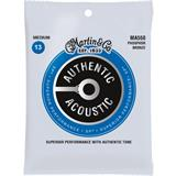 Martin Strings MA550 Authentic Acoustic SP 92/8 Phosphor Bronze Medium
