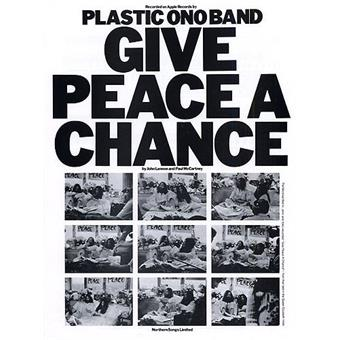 Hal Leonard Give Peace A Change vocalist song book