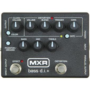 MXR M80 Bass DI basse pédale distortion/fuzz/overdrive