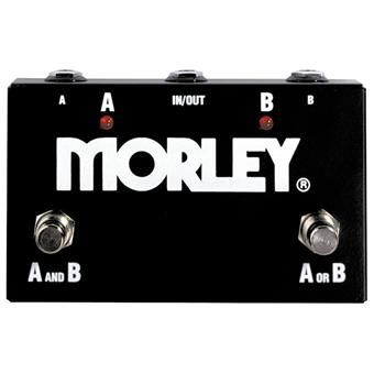Morley ABY Switch routing/switching pedaal
