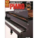 Hal Leonard 10 Easy Lessons Teach Yourself Piano