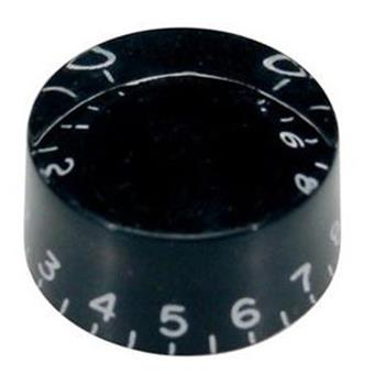 Boston KB-110 Hatbox speed knob, black bouton
