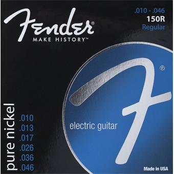 Fender Original Pure Nickel 150R Regular Strings 010 snarenset voor elektrische gitaar
