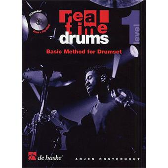 Hal Leonard Real Time Drums Basic Method For Drumset Level 1 lesmethode voor drum/percussie
