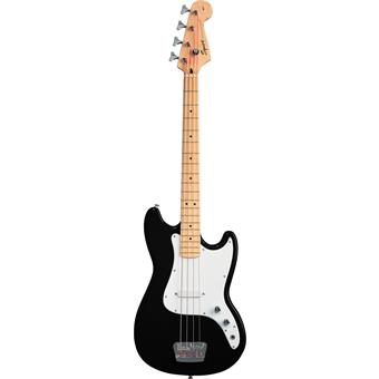 Squier Bronco Bass Black 4 string bass guitar