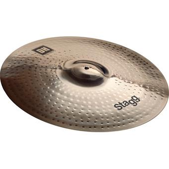 Stagg DH-RM20B Double Hammered Medium 20 Brilliant ride cymbal