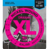 D'Addario EXL150 Regular Light 12-String