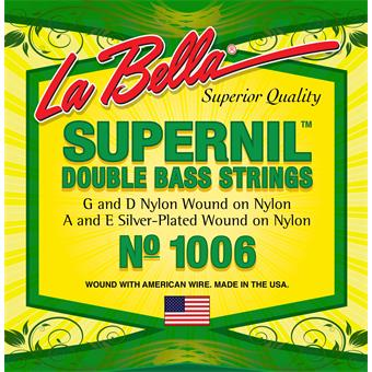 Labella 1006 Supernil Double Bass Strings strings for bass guitar