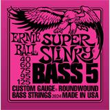 Ernie Ball 2824 Super Slinky 5-String Bass Nickel Wound