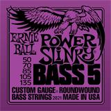 Ernie Ball 2821 Power Slinky 5-String Bass Nickel Wound