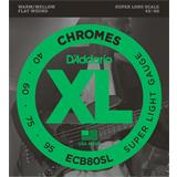 D'Addario ECB80SL Chromes Bass Super Light 40-95
