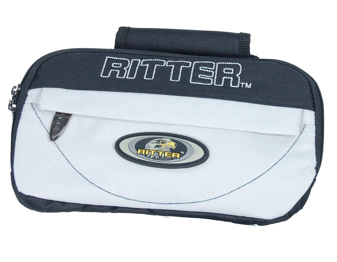 Image of Ritter RCPWP Classic Waist Pouch Black Silk Gray 0069085901383