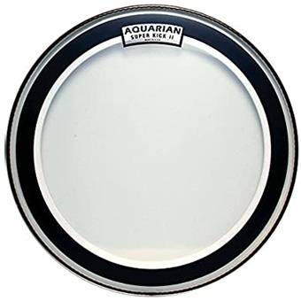"Aquarian Super Kick II 20"" bass drum head"