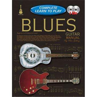 Hal Leonard Complete Learn To Play Blues Guitar teaching method for electric guitar