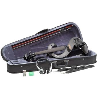 Stagg EVN 4/4 BK Electric Violin Set Black violon