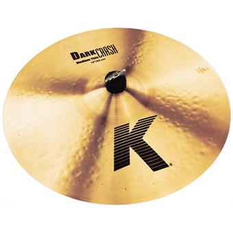 Zildjian 17 K Dark Crash Medium Thin crash cymbal
