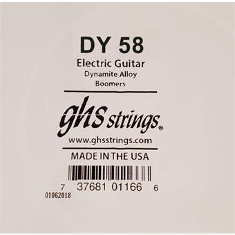 GHS DY58 Wound single string for electric guitar