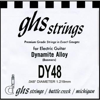 GHS DY48 Wound single string for electric guitar