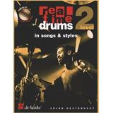 Hal Leonard Real Time Drums in Songs & Styles (NL)