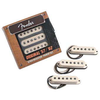 Fender Original 57 62 Strat Set Aged White guitar pickup set