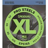 D'Addario EPS165 ProSteels Bass Reg Light Top Med Bottom 45-105
