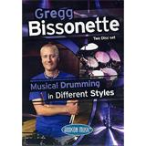 Hal Leonard Gregg Bissonette Musical Drumming In Different Styles