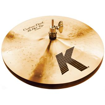 Zildjian 13 K Custom Dark Hats hi-hat cymbals