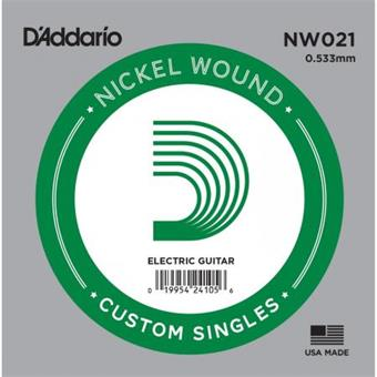 D'Addario NW021 single string for electric guitar