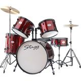 Stagg TIM1 Set 22 Wine Red