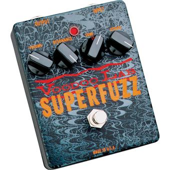 Voodoo Lab Superfuzz fuzz pedaal