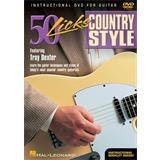 Music Sales 50 Licks Country Style Guitar